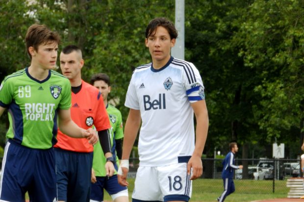 Residency Week 2016: Ten Count with Vancouver Whitecaps U18 captain David Norman