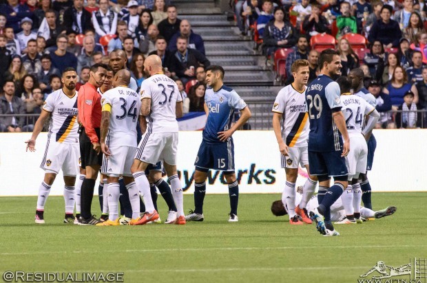 Report and Reaction: Vancouver Whitecaps lose Matias Laba to PRO plague but hold on for draw against LA