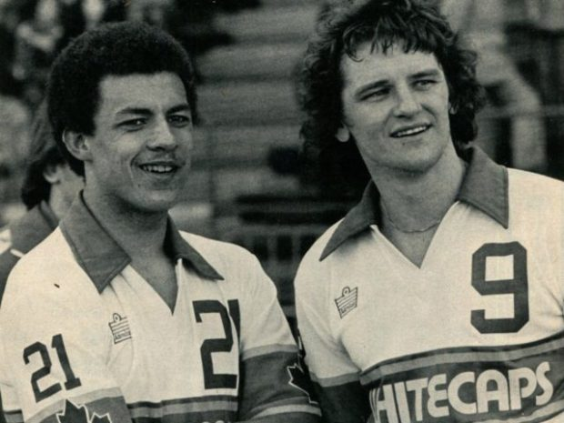Their Finest Hour: Vancouver Whitecaps 1979 Soccer Bowl winning season (Part Eight – Two home wins, Carl Valentine's first goal as a Whitecap, Willie Johnston interview, and Alan Ball plays against Vancouver)