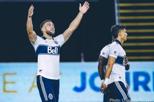Report and Reaction: Cavallini double dispatches some of Vancouver Whitecaps' LAFC demons