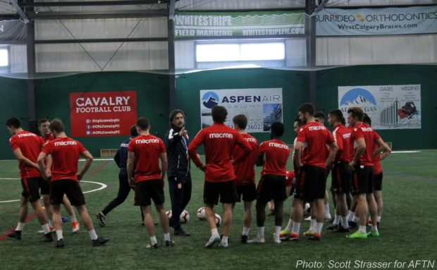 Habit Forming: Cavalry FC kick off 2019 preseason training camp as some notable new faces look to flesh out their roster