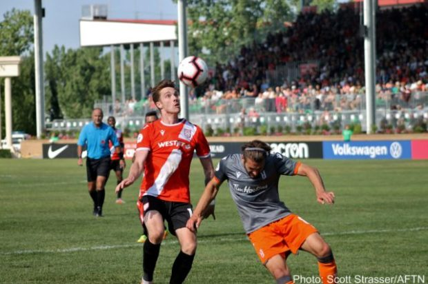 Cavalry's Spring Season title celebrations put on ice with 1-0 loss to Forge FC