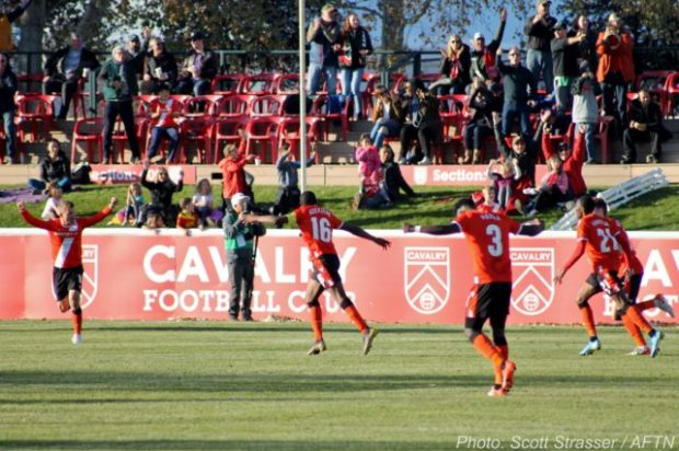 Goals from unlikely sources as Cavalry FC shuts out HFX Wanderers