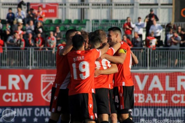 Cavalry FC wrap up first ever CPL spring season title