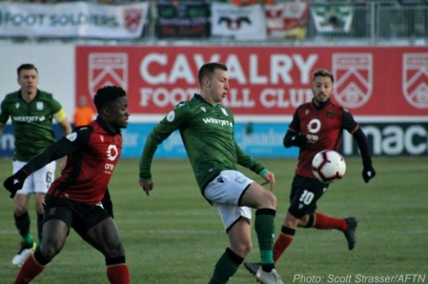 Late flurry of offence propels Cavalry past Valour