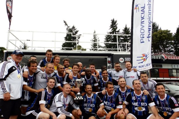 Dramatic stoppage time winner seals BC Provincial Masters title for Coquitlam Metro-Ford PCE