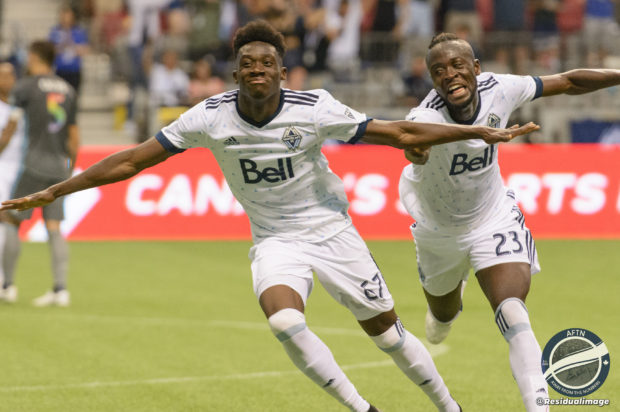 Report and Reaction: Davies delights with a double double as Whitecaps show their pride