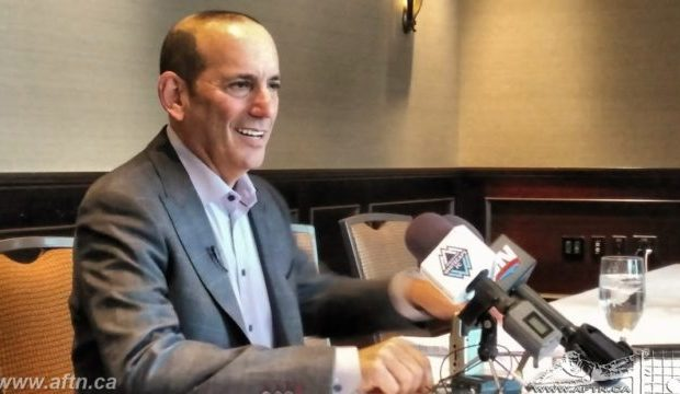 "Garber tells CSA they ""need to figure out"" how to engage with MLS teams for the good of Canadian player development"
