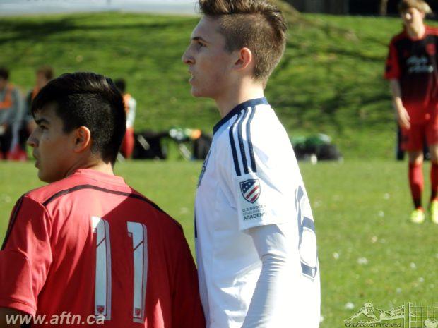 Ten Count with Vancouver Whitecaps U18 player Eric de Graaf