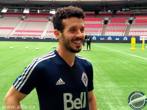 """Felipe Martins arrives in Vancouver with clear goal in mind – """"I've come here to win and I want to bring the MLS Cup and make history"""""""