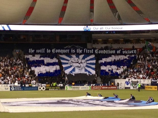 Here We Are Now Tifo-tain Us!