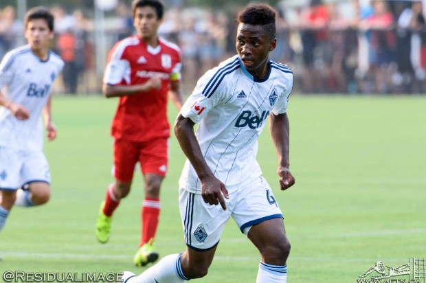 Ten Count with Whitecaps and Canada U18 player Gloire Amanda