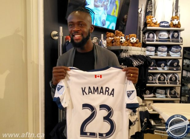 """Kei Kamara in Vancouver """"to be a leader"""" and win a championship"""