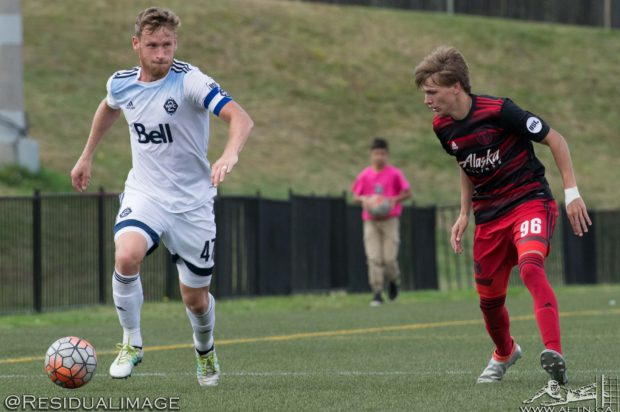 """Kyle Greig reflects on his first Whitecaps season and the USL playoff road ahead: """"I couldn't honestly have asked for a better experience"""""""