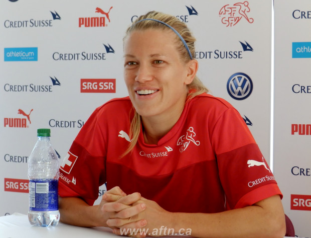 """Switzerland's Lara Dickenmann ready for battle with Canada – """"It's much more important to focus on Canada's team, not on the Canadian crowd"""""""