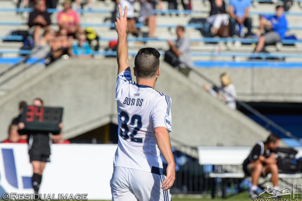 """Whirlwind 24 hours sees two """"dreams come true"""" for Vancouver Whitecaps midfielder Marco Bustos"""