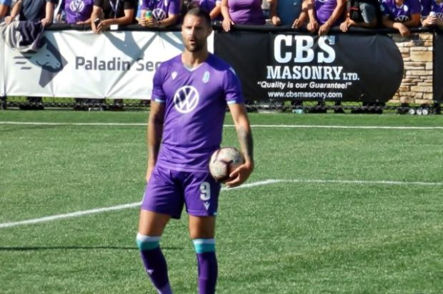 "Marcus Haber back in action quicker than expected after injury and looking to ""make a difference"" for Pacific FC in Fall Season run-in"