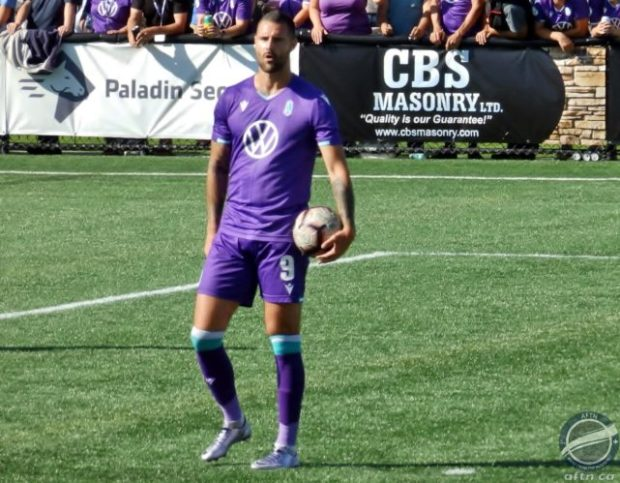 """Marcus Haber back in action quicker than expected after injury and looking to """"make a difference"""" for Pacific FC in Fall Season run-in"""