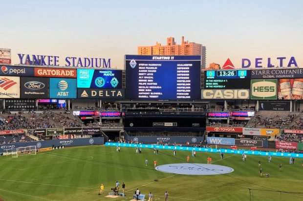 Report and Reaction: Whitecaps working for their Yankee dollar as E-Money earns battling point against NYC