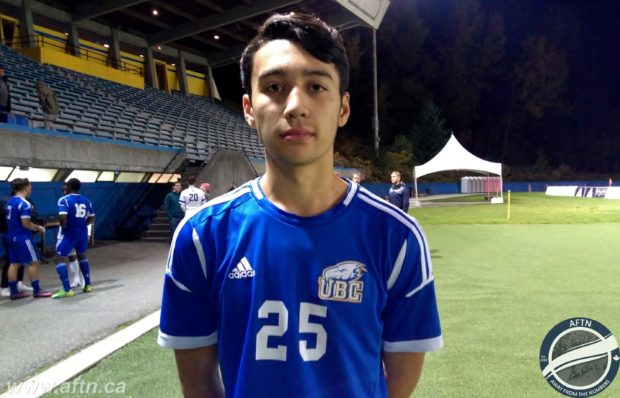 Patrick Metcalfe aiming for first championship with UBC Thunderbirds after making move from WFC2