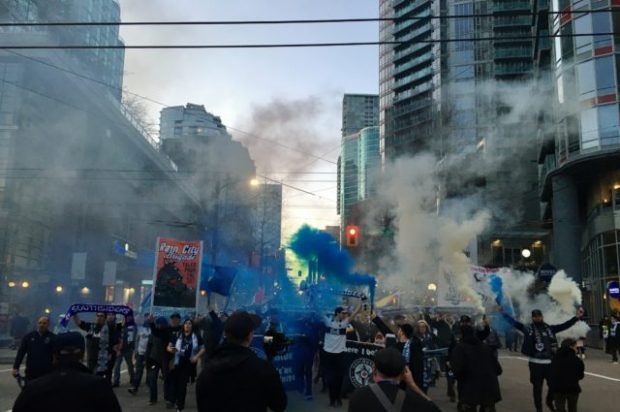 March Madness: My first march to a Vancouver Whitecaps game