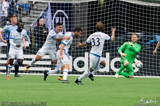 Report and Reaction: Montreal Impact throw Vancouver Whitecaps a First Kick Piatti party