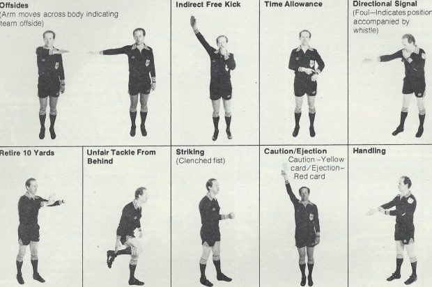 Different Times #2: Referee Signals