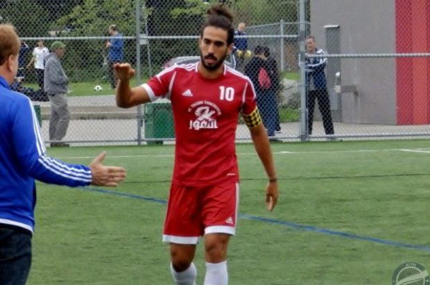 Five goal Farivar fires Rino's Tigers back to top of VMSL Premier (with video)