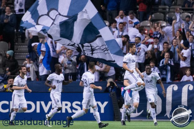 Vancouver Whitecaps v New York Red Bulls – A History Making Champions League Story In Pictures