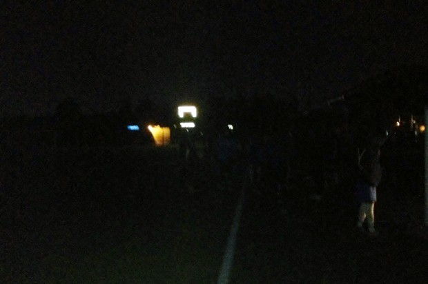 All black in Surrey: Lights go out before B Cup penalty shoot out