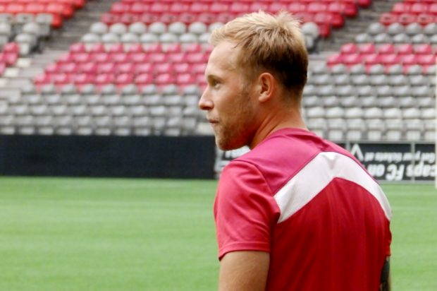 Scott Arfield enjoying CONCACAF experiences with Canada and hoping he can draw on them to boost Burnley
