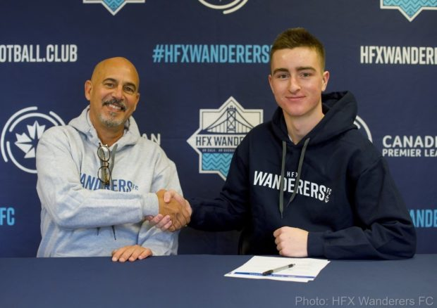 "17-year-old HFX Wanderers signing Scott Firth ""ready for the challenge"" as first Nova Scotian to be signed in the CPL"