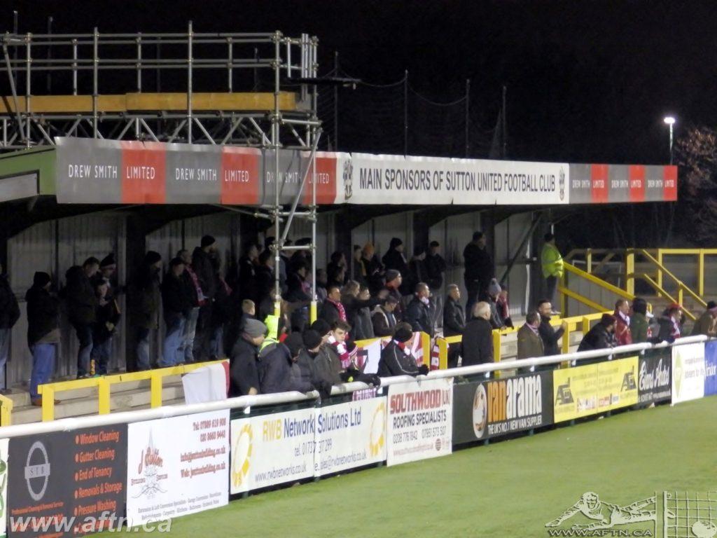 Groundhopping: Gander Green Lane – home of Sutton United FC