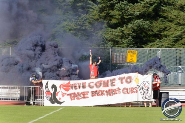 """TSS Rovers see unbeaten home record end in late loss to Victoria Highlanders after """"typical Canadian soccer game"""""""
