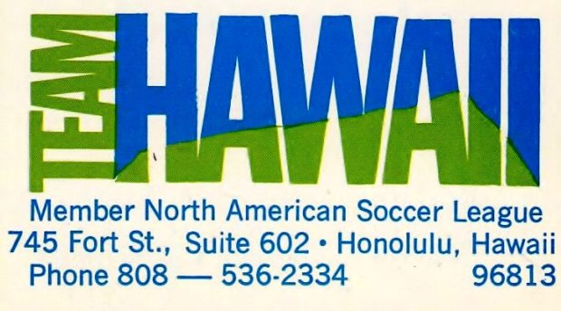 Back In Time: Vancouver Whitecaps and the days of Team Hawaii