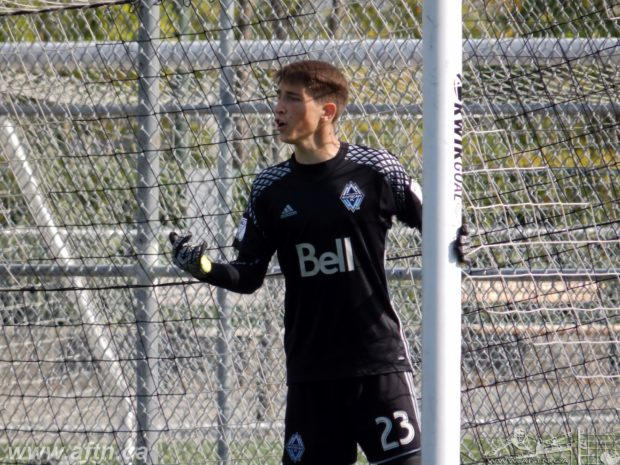 Residency Week 2017: A promising future awaits Thomas Hasal, the latest Whitecaps keeper to catch the eye