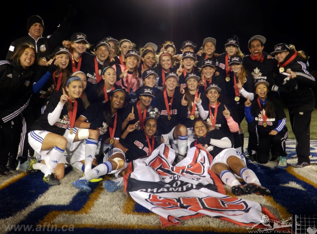 "Thunderbirds Week: UBC claim record-breaking sixth CIS Women's Championship – ""We were here to win the big one, and we won the big one"""