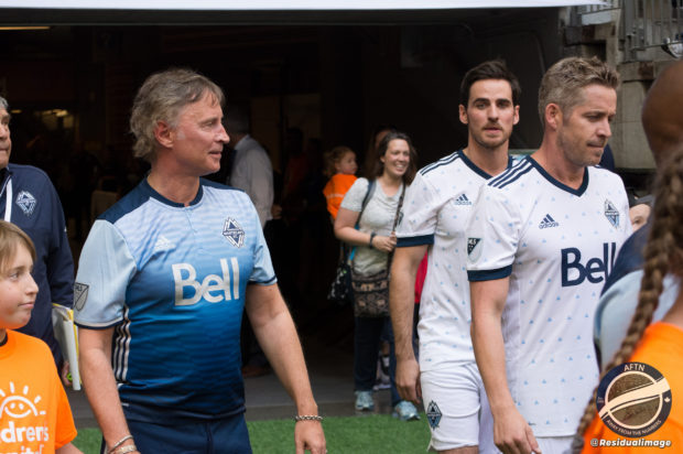 First Whitecaps Legends and Stars charity match raises smiles and cash
