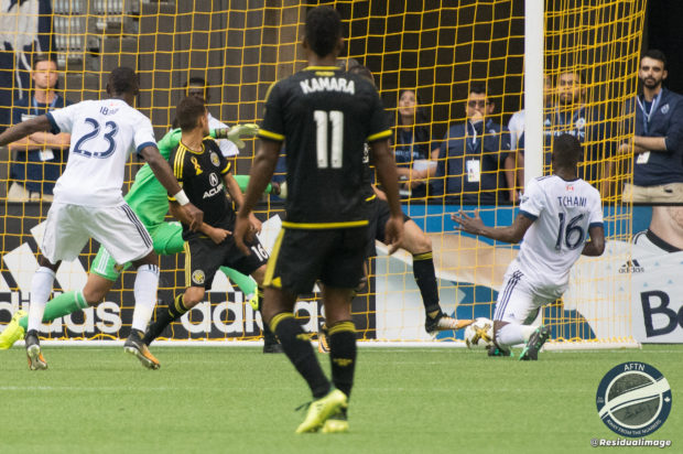 Report and Reaction: Manneh and Tchani trading places and goals as Vancouver and Columbus keep unbeaten runs going