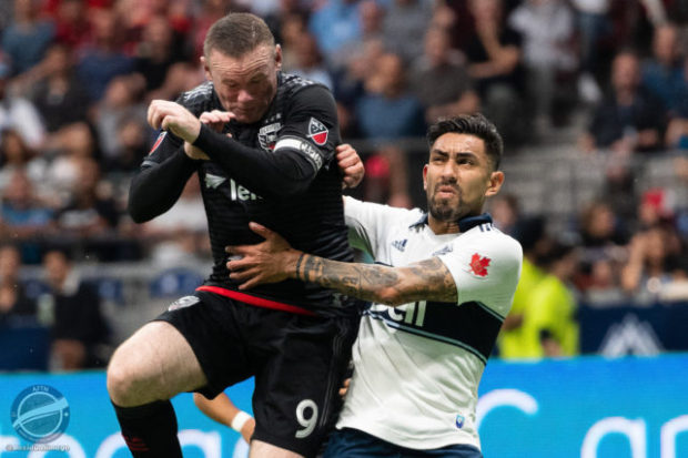 Vancouver Whitecaps v D.C. United – A Roo With A View In Pictures