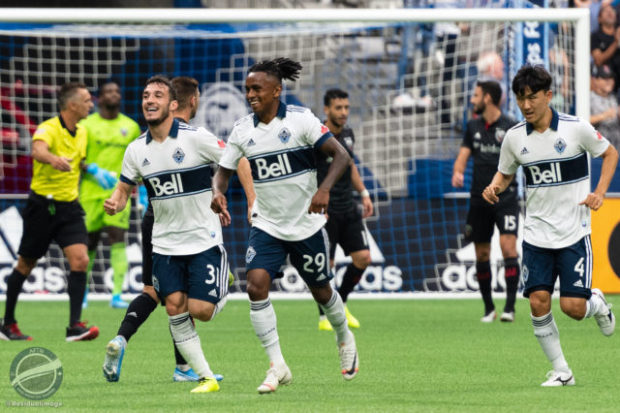 Report and Reaction: Whitecaps swamp Rooney as Reyna secures first home victory since May