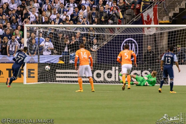 Report and Reaction: Whitecaps see off Dynamo danger thanks to another Pedro penalty