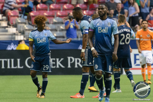 """Report and Reaction: Reyna the """"rash"""" strikes terror into Houston and fires Vancouver Whitecaps back into the playoff places"""
