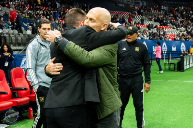 Mutual respect drives relationship between Marc Dos Santos and Bob Bradley as Whitecaps look to find balance to make it three wins on the bounce