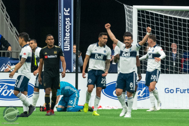 Vancouver Whitecaps v LAFC – The First Victory Story In Pictures