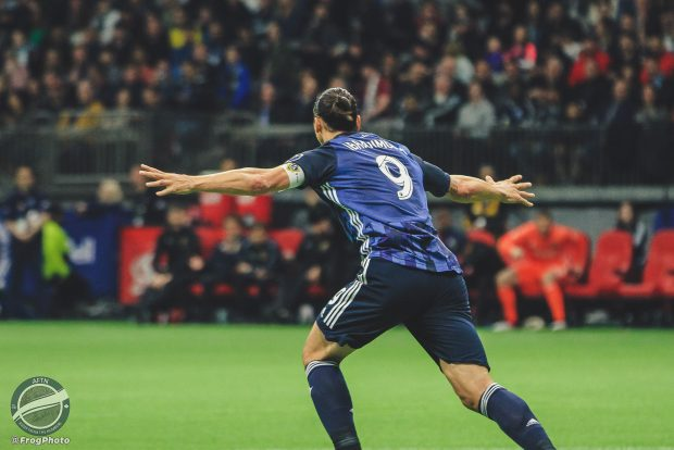 Vancouver Whitecaps v LA Galaxy – The Zlatan Show In Pictures