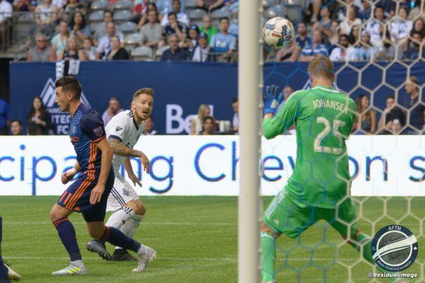 Vancouver Whitecaps v New York City FC – The Story In Pictures
