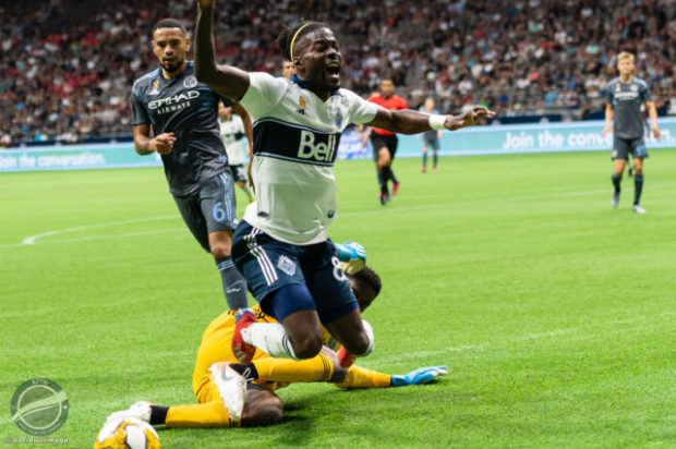 Vancouver Whitecaps v New York City FC – The Playoff Contention Eliminating Story In Pictures