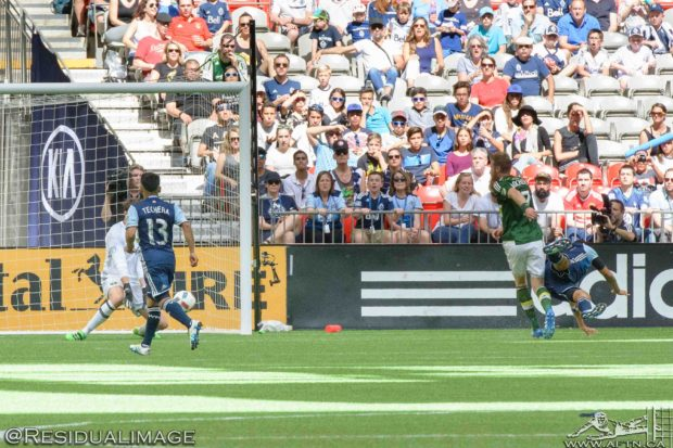 Report and Reaction: Comeback 'Caps in Cascadia Cup driving seat