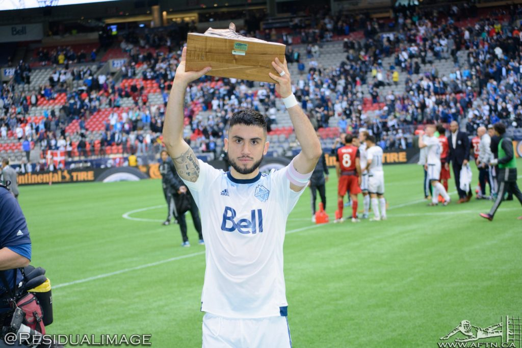 Pedro Morales Vancouver Whitecaps Golden Boot 2016